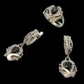 Предлагаем широкий модельный ряд элегантных ювелирных украшений из серебра собственного производства. Щелкните по стрелке в углу, чтобы увеличить.