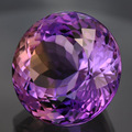 Камень аметрин - 13.50 Ct. Размер - 15.0 x 15.0 x 10.9 mm.