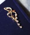Комбинированное золото, бриллианты