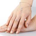 Супер модные кольца, переходящие в браслет. Slave. В серебре и золоте.