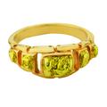 Мужской перстень из золота 585 пробы со вставкой из природных золотых самородков 860 пробы и выше.. Щелкните по стрелке в углу, чтобы увеличить.