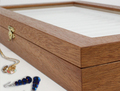 Футляры и шкатулки из натурального дерева для ювелирных изделий, сувениров и для столового серебра