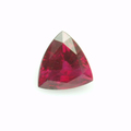 Рубин - Треугольная огранка - 1,38 кар - Бирма (Mong Su)