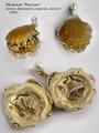 золото, бриллианты, сердолик, жемчуг.