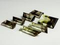 полихромный кварц, раух - цитрин, комплект авторской  ручной  огрнки