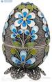 Пасхальное яйцо из серебра 925 пробы