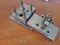 комбинировано-ступенчатый вырубной штамп звено илинка